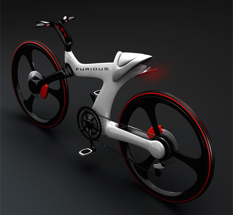 Furious sports bicycle by designer Nenad Kostadinov