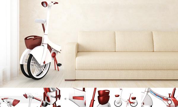 Velo Chic par le designer Raymon Hung