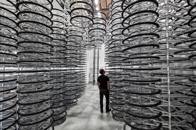 Ai Weiwei bike art