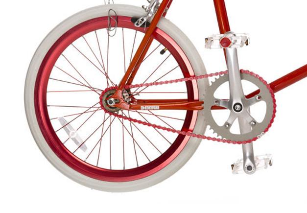 Mixie, hybrid urban bike