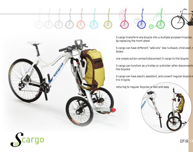 S-Cargo du designer Ofir Adan