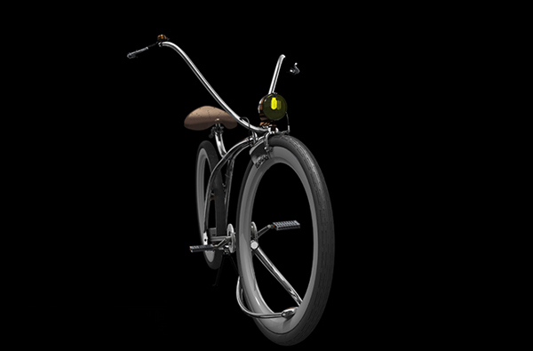 Steam-o, concept bike du designer jános insperger