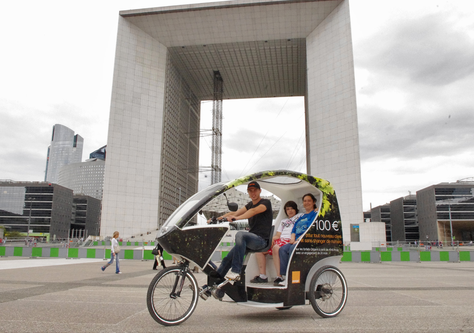 Transport en ville propre