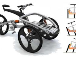 Trix, le trike bike du designer Yves Plattard