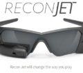 Lunettes de realite augmentee cycliste ReconJet