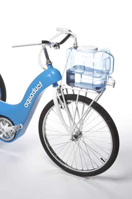 Mobile filtration system: bike prototype