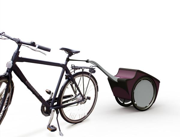 wheeler la remorque v lo trolley v lo et design. Black Bedroom Furniture Sets. Home Design Ideas