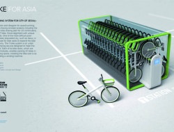 TBike sharing system by designer Jung Tak