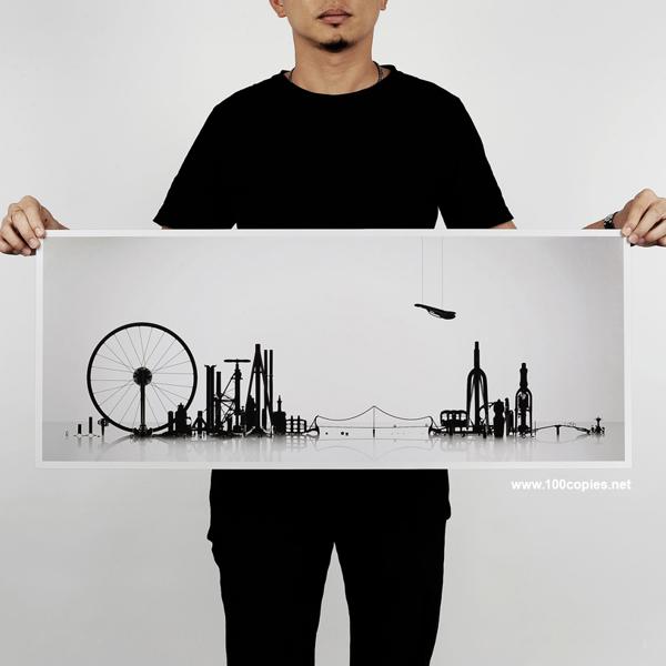 100 copies par Thomas Yang