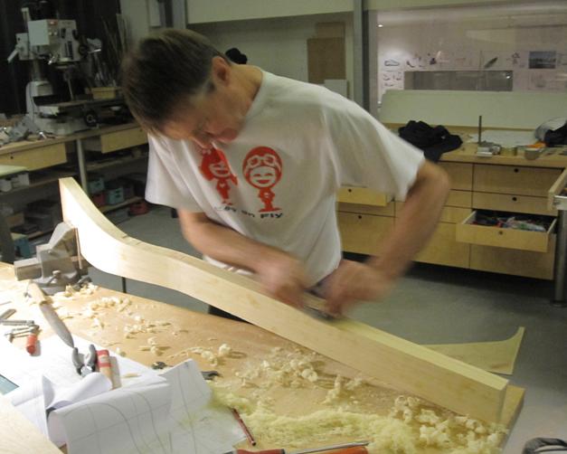 Artisanat du bois pour le velo