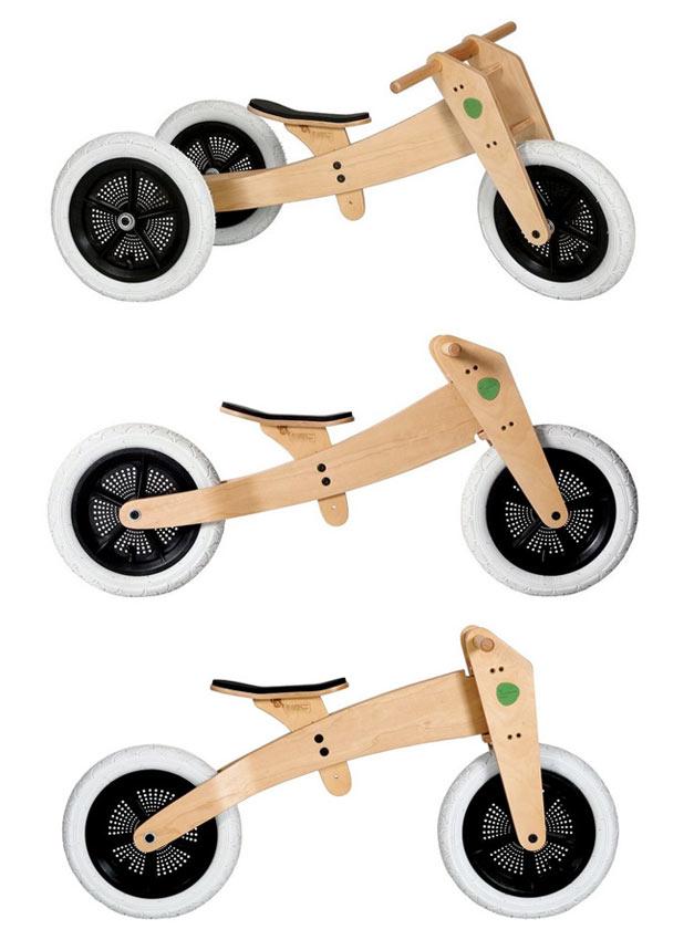 Draisienne evolutive en bois pour enfant