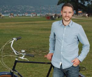 Jean-Christophe Guillaud-Bataille fondateur de Esthete Cycle Clothing