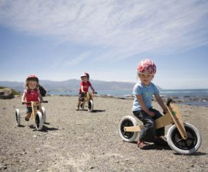 Tricycle en bois pour enfant Wishbone Design