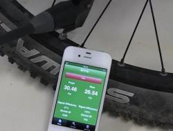 Bike tyre pressure control