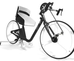 Concept de velo pour handicape par Vincent Dauphin
