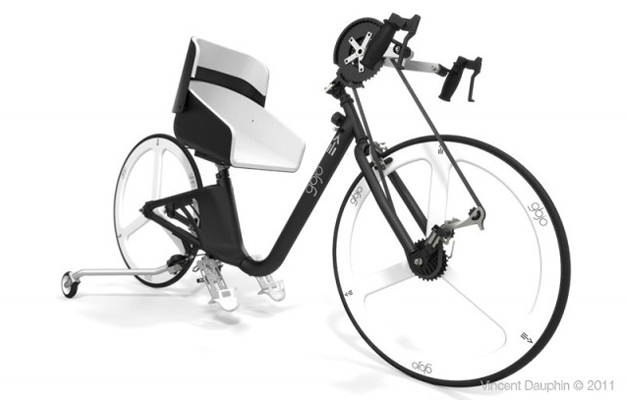 gbjo bicycle le v lo pour parapl gique v lo et design. Black Bedroom Furniture Sets. Home Design Ideas