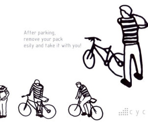 Cycle par la designer Iohanna Pani