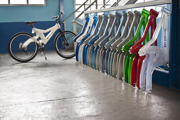 Muzzi Cycles, recycled bikes