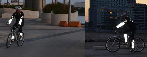 Ameliorer la visibilite nocturne a velo avec RealFlex