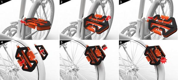 Antivol bicyclette innovant
