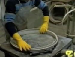 Fabrication de roue de velo en bois