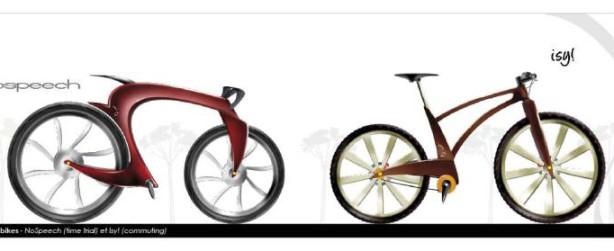 Concept bikes par le designer Johann Paquelier