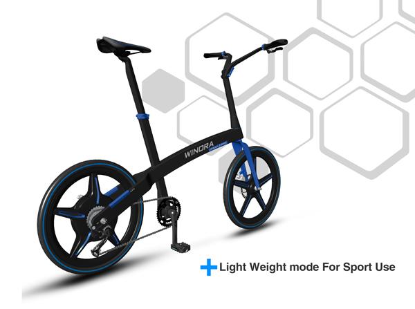 Urban sport bike