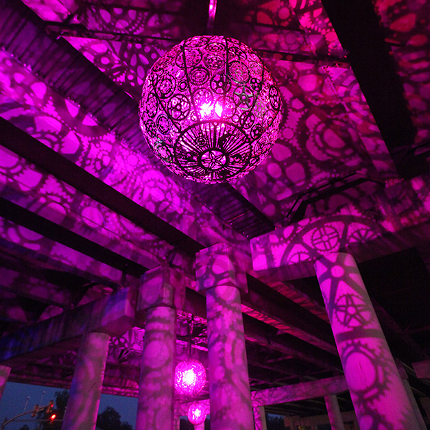 Ballroom Luminoso by artists Joe O'Connell and Blessing Hancock