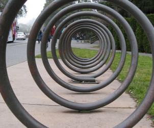 Rack a velo tubulaire