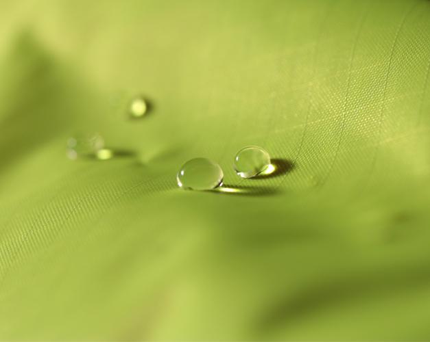 Tissu deperlant pour velo