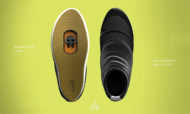 Bike shoes concept by Jillian Tackaberry