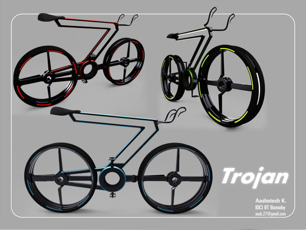 Trojan concept bike by Aashutosh Kulkarni