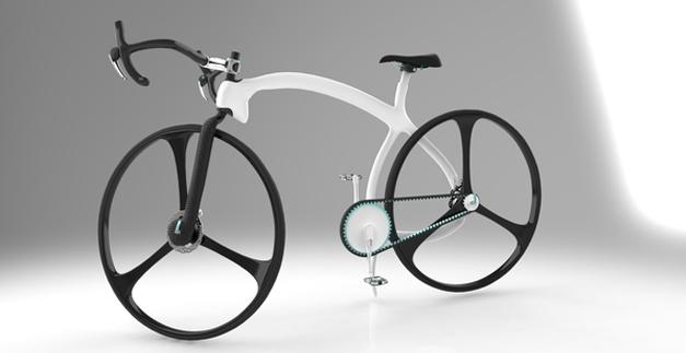 Eliptiq bike by Bertan Taskin