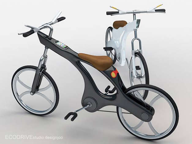 Ecodrive bicycle concept by Juil Kim