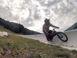 Gravity bike recycled