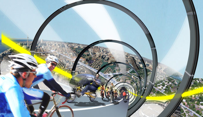 Urban prospective: Velo-city project