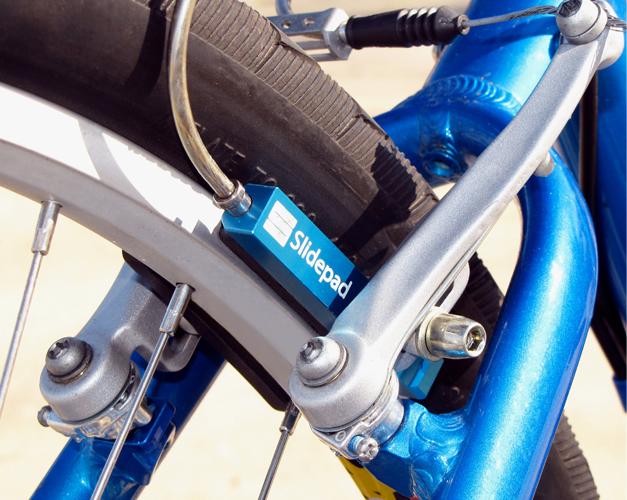 Systeme de frein ABS pour velo Slidepad