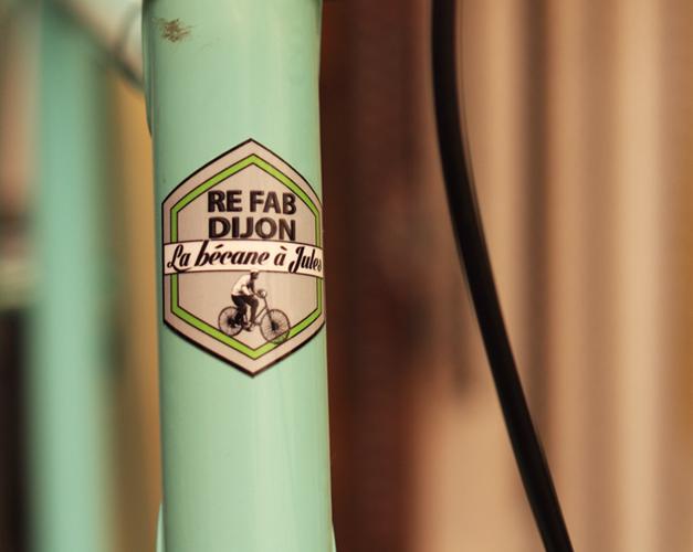 Refab, marque de la Becane a Jules a Dijon