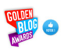 Golden blog awards pour le blog Velo et Design