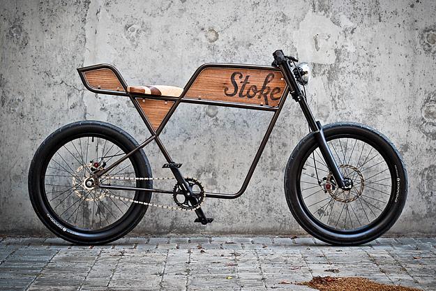 Stoke bike by Martin Aveyard