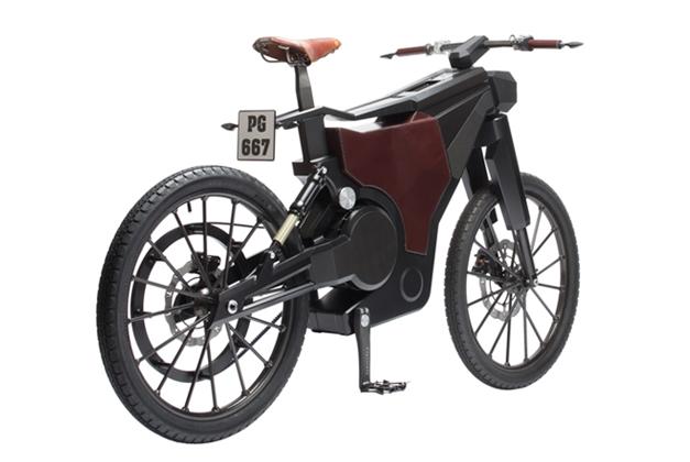 PG Bikes Blacktrail : velo moto