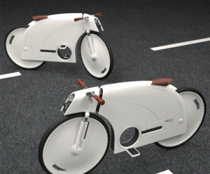 Helo concept bike par Junkyo Lee