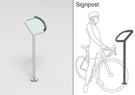 Mobilier urbain cycliste
