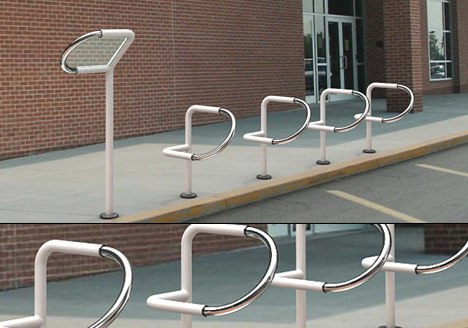 P+bike urban furniture