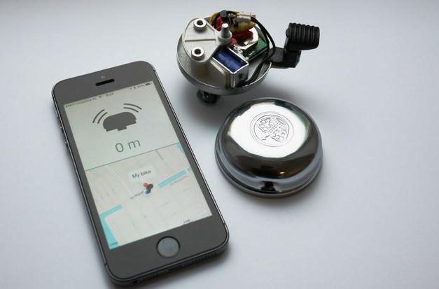 Sonnette velo GPS