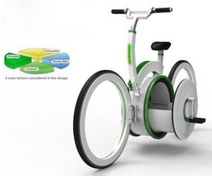 Carrier bike by Shin Hyung Sub Shin