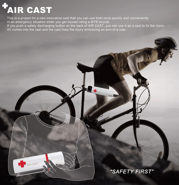 Air Cast par le designer Kyuho Song