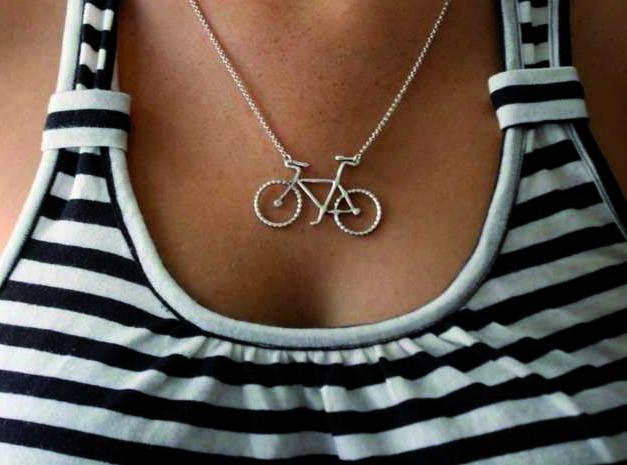 Bijou en forme de bicyclette