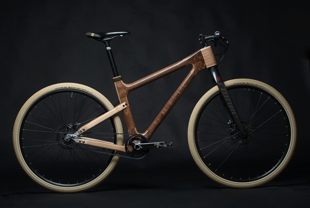 Grainworks wooden bicycle design