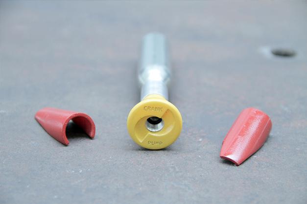 Crankpump, innovation dans le gonflage des pneus